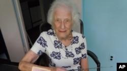 86岁的南西·格蕾丝·罗曼