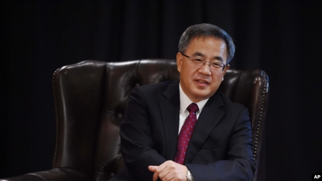 Ông Hồ Xuân Hoa hiện đang là Bí thư Tỉnh ủy Quảng Đông