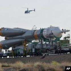 俄羅斯的無人太空船(資料圖片)