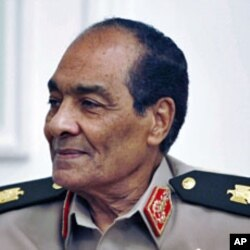 Field Marshal Mohamed Hussein Tantawi, head of Egypt's ruling military council in Cairo (File)