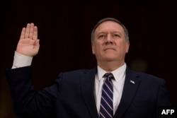 미국의 새 국무장관으로 지명된 마이크 폼페오 중앙정보국(CIA) 국장.