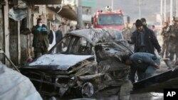 10일 아프가니스탄 카불에서 경찰서장을 겨냥한 차량 폭탄 테러가 발생했다.
