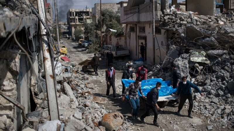 Pentagon: 45 Civilians Killed by Anti-IS Coalition Strikes in March