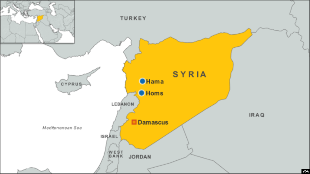 Car Bomb Kills 10 Near Damascus