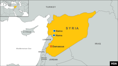 Car Bomb Kills 10 Near Damascus