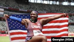 Raven Saunders olimpic champion - USA
