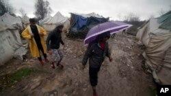 Migranti u kampu Vučjak, novembar 2019.