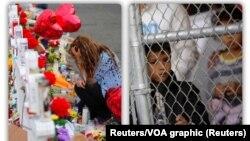 مردم یاد قربانیان تیراندازی در ال پاسو را گرامی می دارند