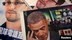 香港中英文媒体上关于爱德华.斯诺登泄密案的报道
