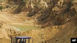 江西省的一个稀土矿(资料照)