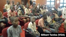 Plus de 300 écoliers enlevés ont retrouvé la liberté, au Nigeria, le 18 décembre 2020.