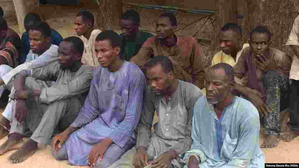 Wasu Daga Cikin 'Yan Boko Haram Da Suka Sace 'Yan Matan Makarantar Chibok, Yuli 19, 2018