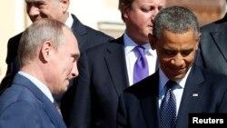美國總統奧巴馬和俄羅斯總統普京。(資料圖片)