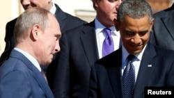 Vladimir Putin, presidente de Rusia (izq.), y el presidente estadounidense Barack Obama, viven el momento más tenso en sus relaciones diplomáticas.