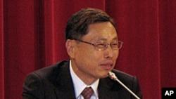 台灣海基會副董事長兼秘書長高孔廉6月8號在圓山飯店