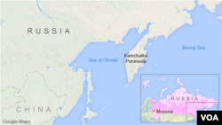 Sea of Ohotsk, Russia