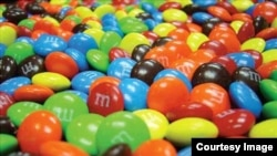 M&M candy was inspired by rations given to U.S. soldiers during World War II.