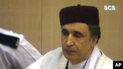 Архив: Абдельбасет аль-Меграхи во время оглашения приговора. 14 марта 2002 года