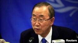 聯合國秘書長潘基文。(資料照片)