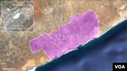 Peace Hotel, across from the main gate of Aden Adde International airport, Mogadishu, Somalia