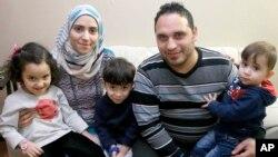 Teksas'a yerleşen Suriyeli Caddu ailesi