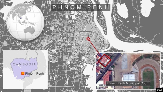 Phnom Penh Municipal Court, Phnom Penh, Cambodia