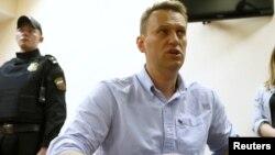 러시아의 야권 운동가인 알렉세이 나발니.