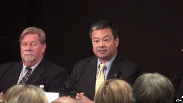 Leroy Chiao, a former NASA astronaut. (G. Flakus/VOA)