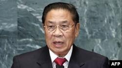 Tổng bí thư đảng Cách Mạng Nhân Dân Lào Choummaly Sayasone