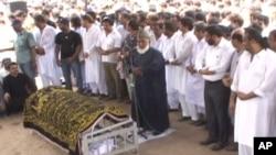 مہدی حسن کی نماز جنازہ