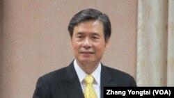 台灣駐美代表金溥聰在立法院接受質詢 (美國之音 張永泰)