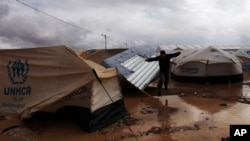 Mideast Storm Deepens Misery of Syrians