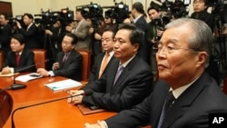 30일 열린 한나라당 비상대책위원회 전체 회의
