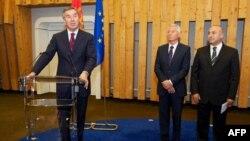 Predsednik Vlade Crne Gore govori u prisustvu generalnog sekretare SE i predsednika Parlamentarne skupštine