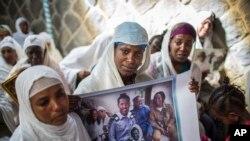ایتھوپیا میں آباد ان یہودیوں میں سے کچھ کا کہنا ہے کہ ان کے خاندان کے کچھ افراد اسرائیل میں سکونت اختیار کرچکے ہیں۔ (فائل فوٹو)