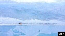 美國總統奧巴馬表示阿拉斯加出現氣候變化警訊。