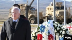მაკკეინმა გვირგვინით შეამკო - საერთაშორისო და სამშვიდობო მისიების დროს დაღუპული ქართველი ჯარისკაცების მემორიალი