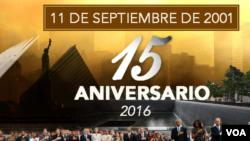 Informes especiales y enlaces desde Nueva York y Washington DC. al cumplirse un aniversario más del ataque del 11 de septiembre.