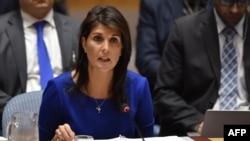 美國常駐聯合國代表黑利星期天警告敘利亞總統阿薩德說,如果他再使用化學武器的話,美國將發動新一輪的導彈襲擊。