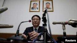 朝鲜驻华公使朴明皓(2017年3月16日)