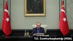 (ARŞİV) Cumhurbaşkanı Erdoğan MGK toplantısına başkanlık ediyor