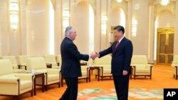 Estados Unidos espera con interés la primera reunión entre el presidente Donald Trump y su homólogo chino, Xi Jinping.