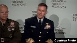 美国海岸警备队司令保罗·楚孔夫特海军上将(外交关系协会网站截图)