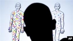 AIDS ညီလာခံက slide show ျပကြက္တခု