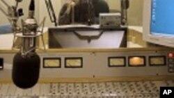 Estúdio de rádio (imagem de arquivo)