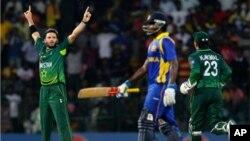شارجہ میں سری لنکا کو میچ جیتنے کے لیے201 رنزکا ہدف