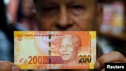 Nova južnoafrička novčanica sa likom Nelsona Mandele