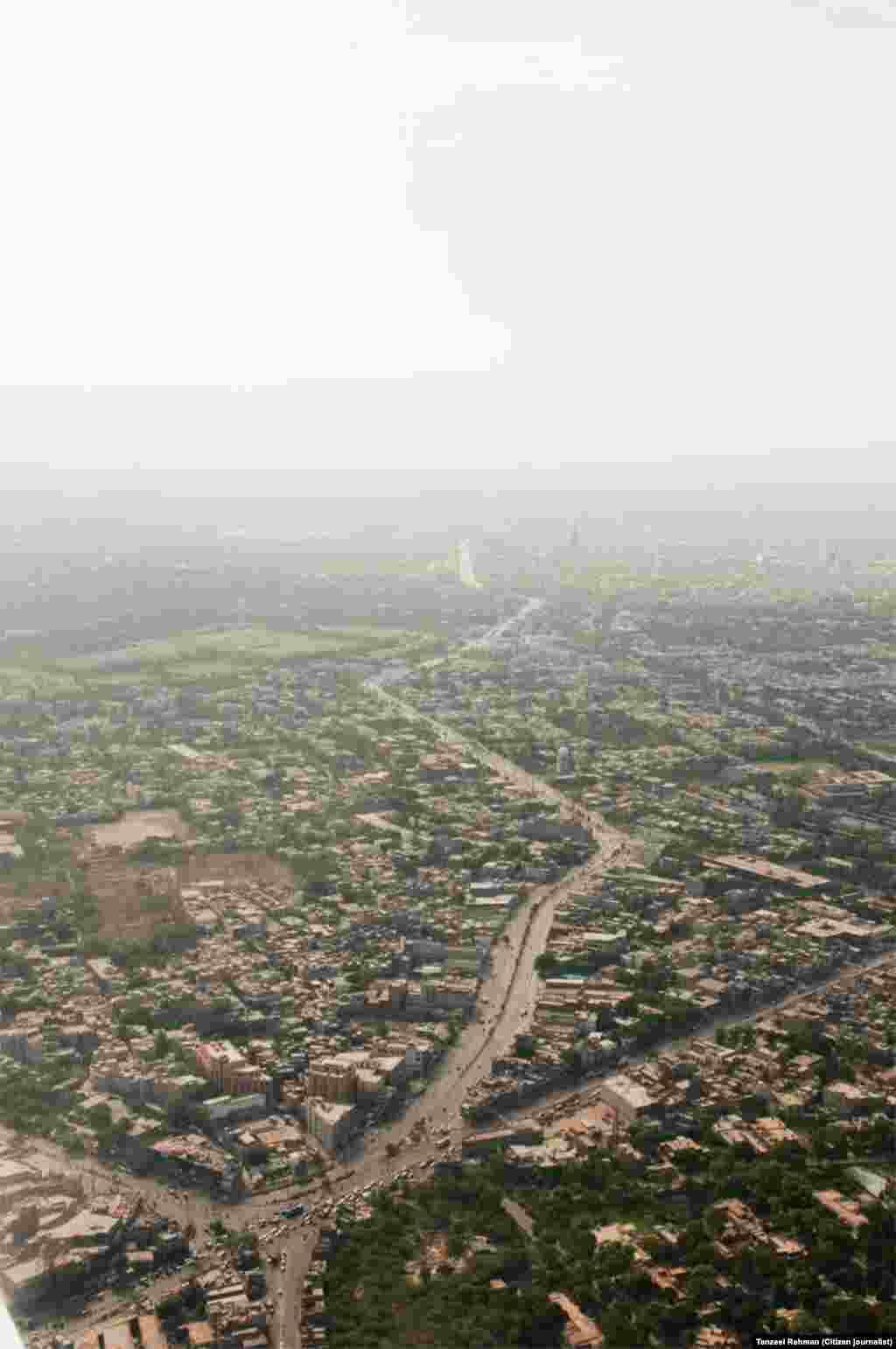 لاہور شہر کا ایک منظر
