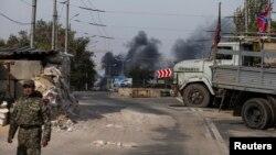 烏克蘭分離武裝巡視據點