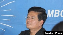 Ngim Nheng is an opposition lawmaker of Pursat province. (Courtesy Photo)